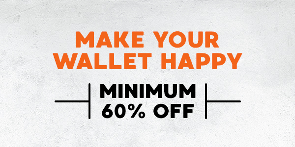 Make your wallet happy :)