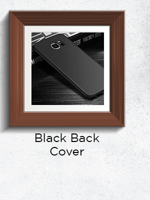 Black Back Covers