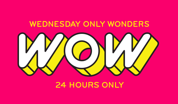 Wednesday only Wonders!