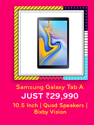 Samsung Galaxy Tab A at Just Rs.29,900