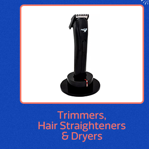 Trimmers, Hair Straighteners & more