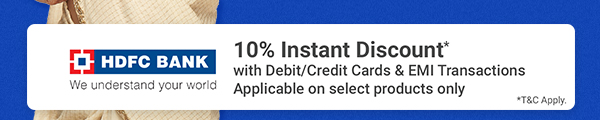 10% Off on HDFC Cards