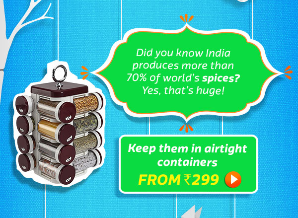 70% Of world's spices are produced in India