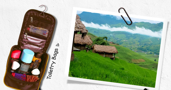 Toiletry Bags | The next place in list is Mokokchung in Nagaland - nearest airport is 212Km