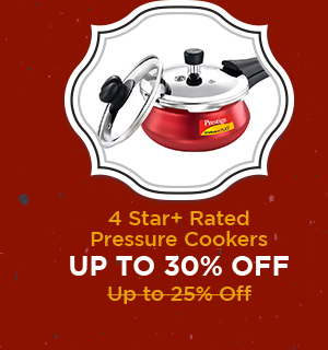 4+ Star Rated Pressure Cookers