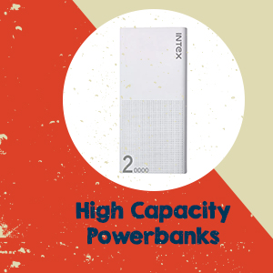 High Capacity Powerbanks