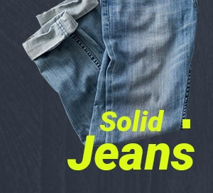 Solid Jeans
