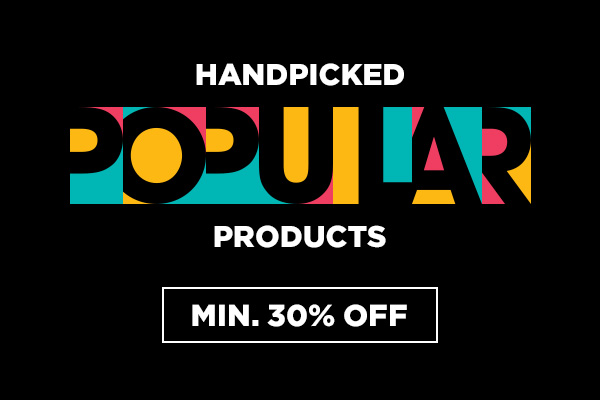 Introducing POPULAR products at Min.30% Off