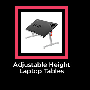 Adjustable Height Laptop Tables