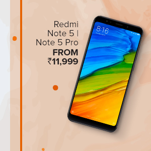 Redmi Note 5 Series from Rs.11,999