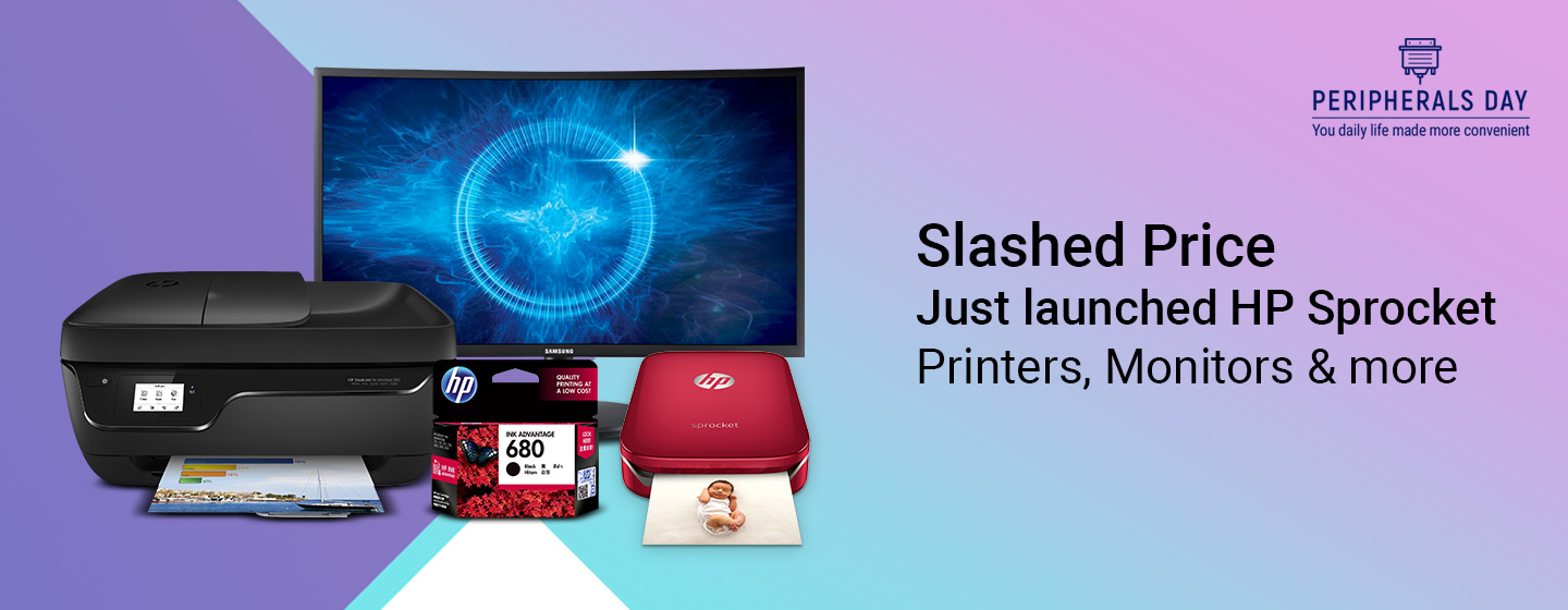 Peripherals Day - Extra Offers on IT Peripherals like Printers, Monitors and more