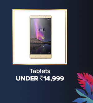 Tablets with MRP under Rs.14,999