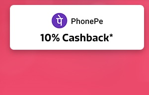10% Cashback* from PhonePe