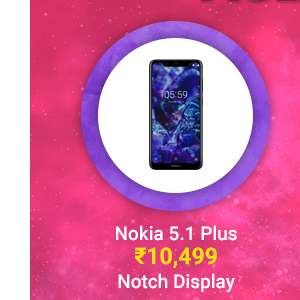 Nokia 5.1 Plus at Rs. 10,499 | Android One, Notch Display