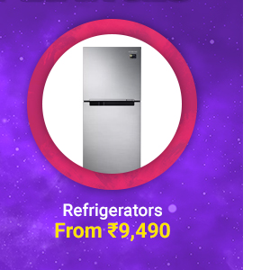 Refrigerators from Rs.9490