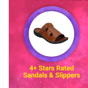 4+ Star Rated Sandals & Slippers