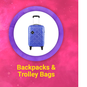 Backpacks & Trolley Bags