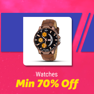 Watches Min 70% Off