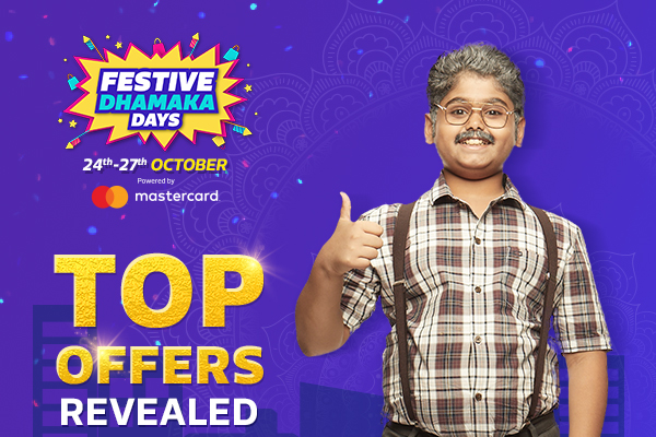 Welcome to the Flipkart's Festive Dhamaka Sale