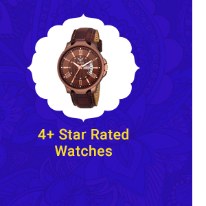 4+ Star Rated Watches