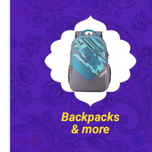 Backpacks and more