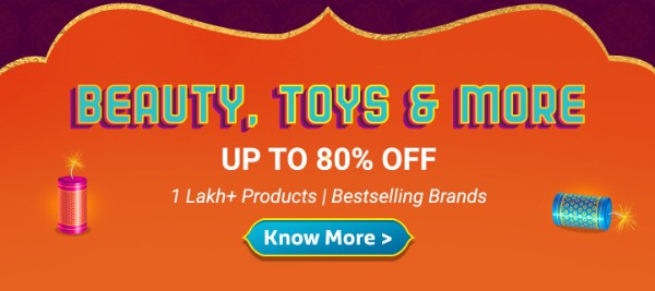 ...Beauty, Toys & more