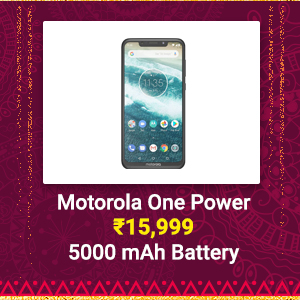 Motorola One Power at ₹15,999 | 5000 mAh Battery, Snapdragon 636