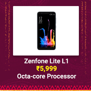Zenfone Lite L1 at Rs. 5,999 | Octa-core Processor