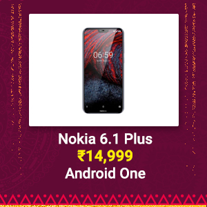 Nokia 6.1 Plus at Rs. 14,999 | Android One, Snapdragon 636
