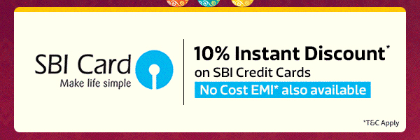 Get 10% Instant Discount* from SBI