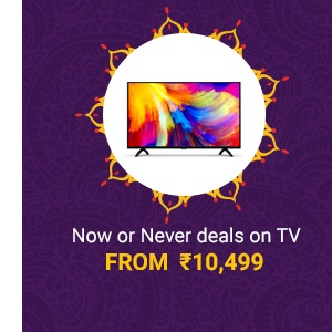 Now or Never deals on TV
