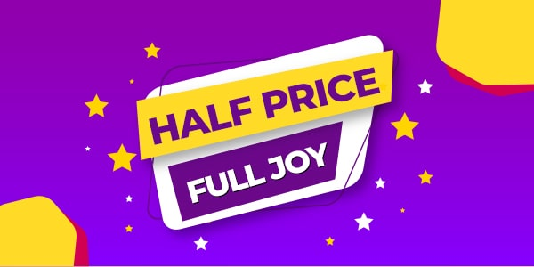 Half Price, Full Joy