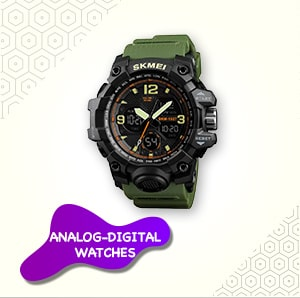 Analog-Digital Watches