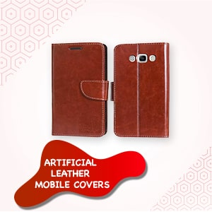 Artificial Leather Mobile Covers
