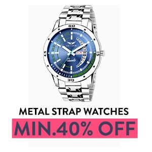 Metal Strap Watches