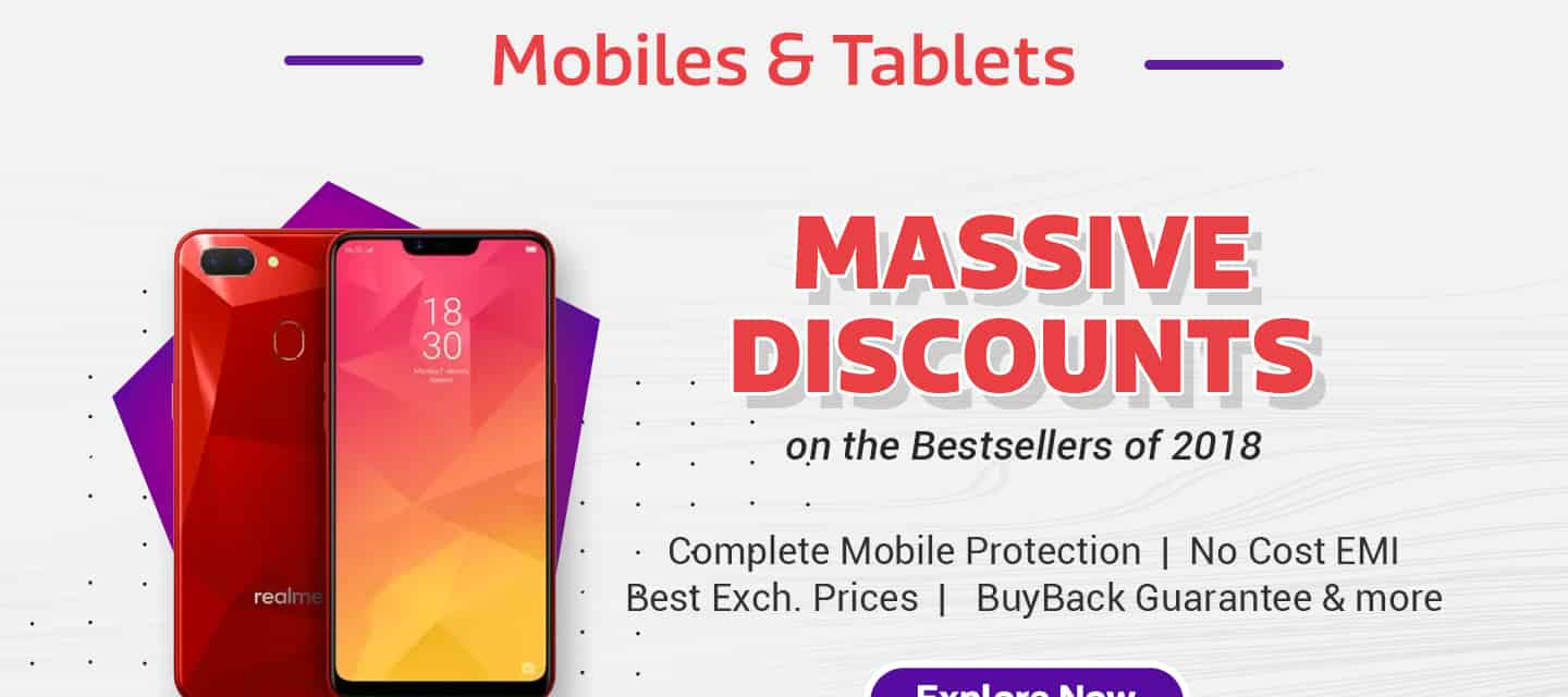 Massive Discounts on Mobiles