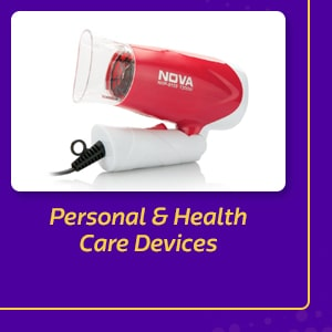 Personal & Health Care Devices