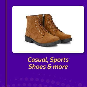 Casual, Sports Shoes & more