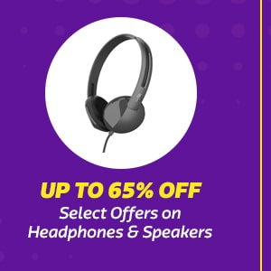Select Offers on Headphones & Speakers