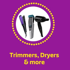Trimmers, Dryers & more
