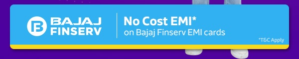 No Cost EMI on Bajaj Finserv Ltd. Cards