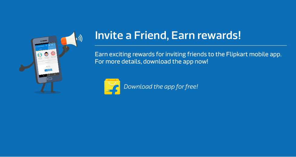Flipkart App Invite and Earn: Get Free Rs.50 Flipkart Gift Voucher for Each Refer